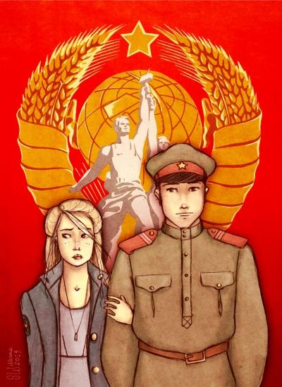 Fan Art: Tatiana e Alexander |Fonte da imagem